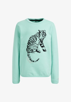 Sweatshirt - mint green
