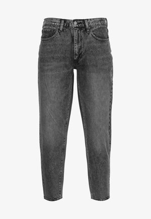 562™LOOSE TAPER - Jeans fuselé - black