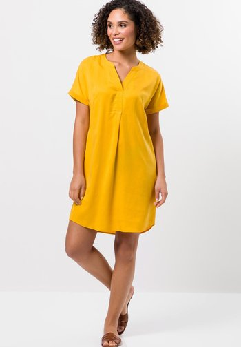 Day dress - yellow curry