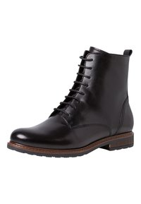 Tamaris - Lace-up ankle boots - black - 2