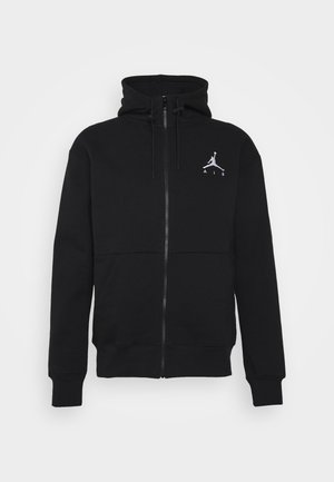 JUMPMAN AIR - Bluza rozpinana - black/white