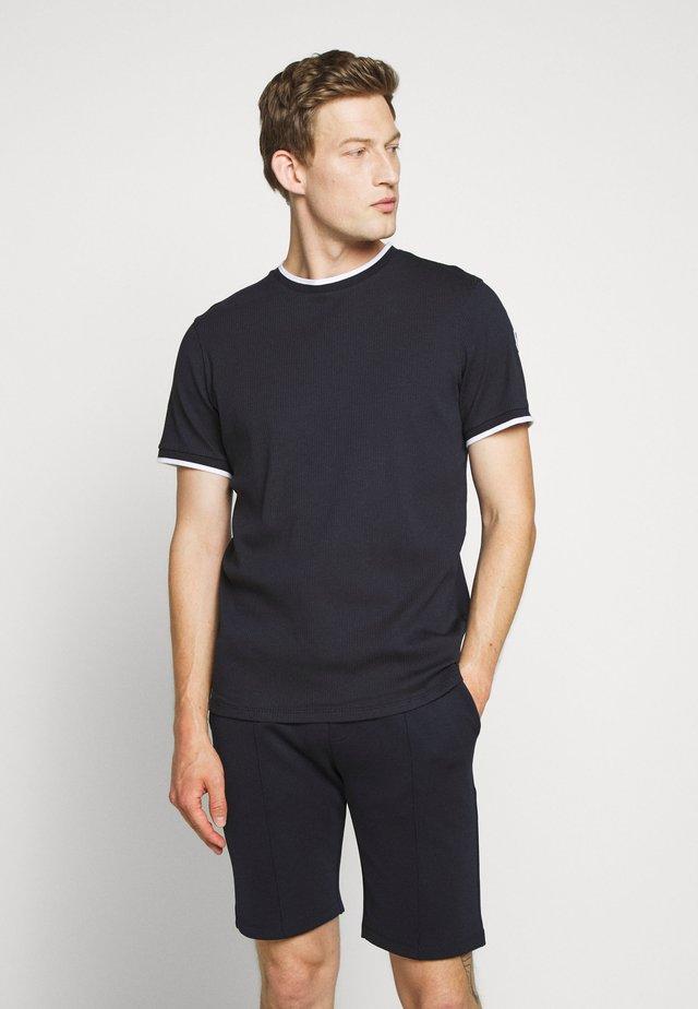 ADAM - Print T-shirt - marin