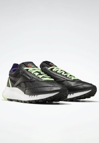 Reebok Classic - NEW LEGACY LEATHER SHOES - Trainers - black - 1