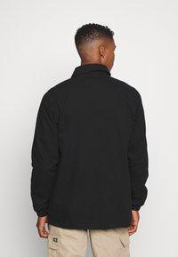 Dickies - BUSKIRK COACH JACKET - Summer jacket - black - 2