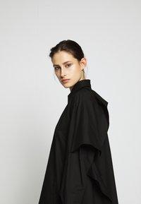 MM6 Maison Margiela - Košilové šaty - black - 3