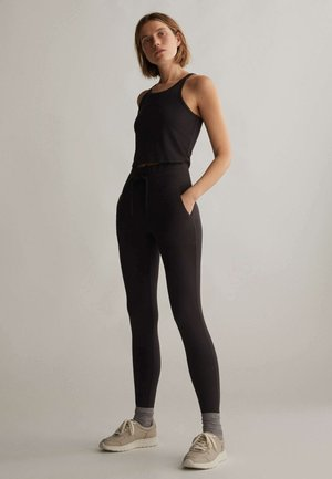 COMFORT - Legging - black