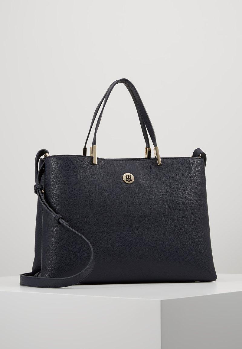 Tommy Hilfiger - CORE SATCHEL - Handbag - blue