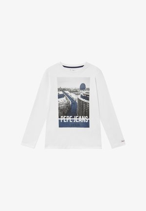 CHANDLER - Langærmede T-shirts - optic white