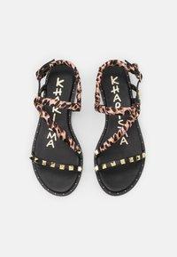 KHARISMA - Sandals - soft nero - 5