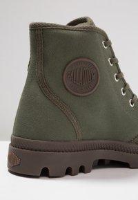 Palladium - PAMPA HI ORIGINAL - Lace-up ankle boots - olive night/black - 5
