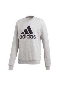 adidas Performance - BADGE OF SPORT FLEECE SWEATSHIRT - Sweatshirt - grey - 9