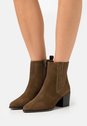 COLE - Classic ankle boots - brown
