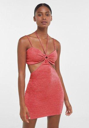 MIT RING  - Day dress - red