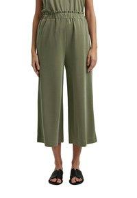Esprit - CULOTTE - Trousers - light khaki - 8