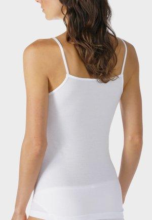 SPAGHETTI TOP SERIE ORGANIC - Undershirt - white
