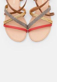 San Marina - DALABA - Sandals - camel/multicolor - 5