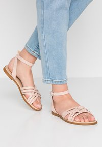 KIOMI Wide Fit - Sandals - nude - 0