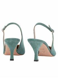BOSS - OLIVIA SLING - Slingback ballet pumps - light green - 4