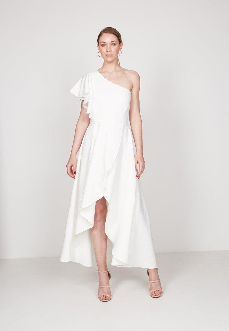 True Violet - HI-LOW - Occasion wear - off white