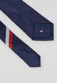Tommy Hilfiger - CORE RIBBED TIE - Tie - blue - 2
