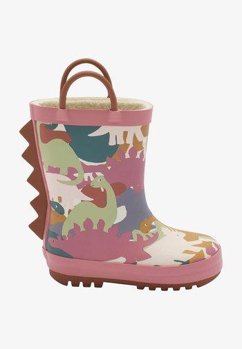 HANDLE - Stivali di gomma - pink