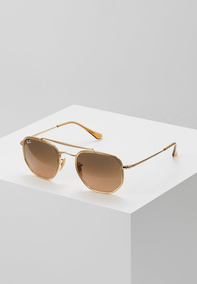 Lunettes de soleil - gold-coloured/brown