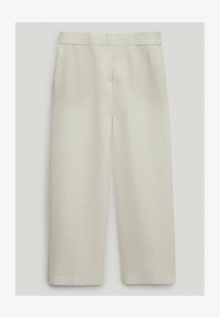 Massimo Dutti - Trousers - white
