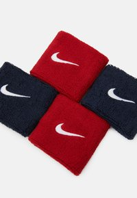 Nike Performance - WRISTBANDS 4 PACK - Sweatband - habanero red/obsidian - 2