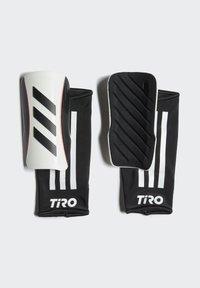 adidas Performance - TIRO LEAGUE SCHIENBEINSCHONER - Shin pads - white - 1