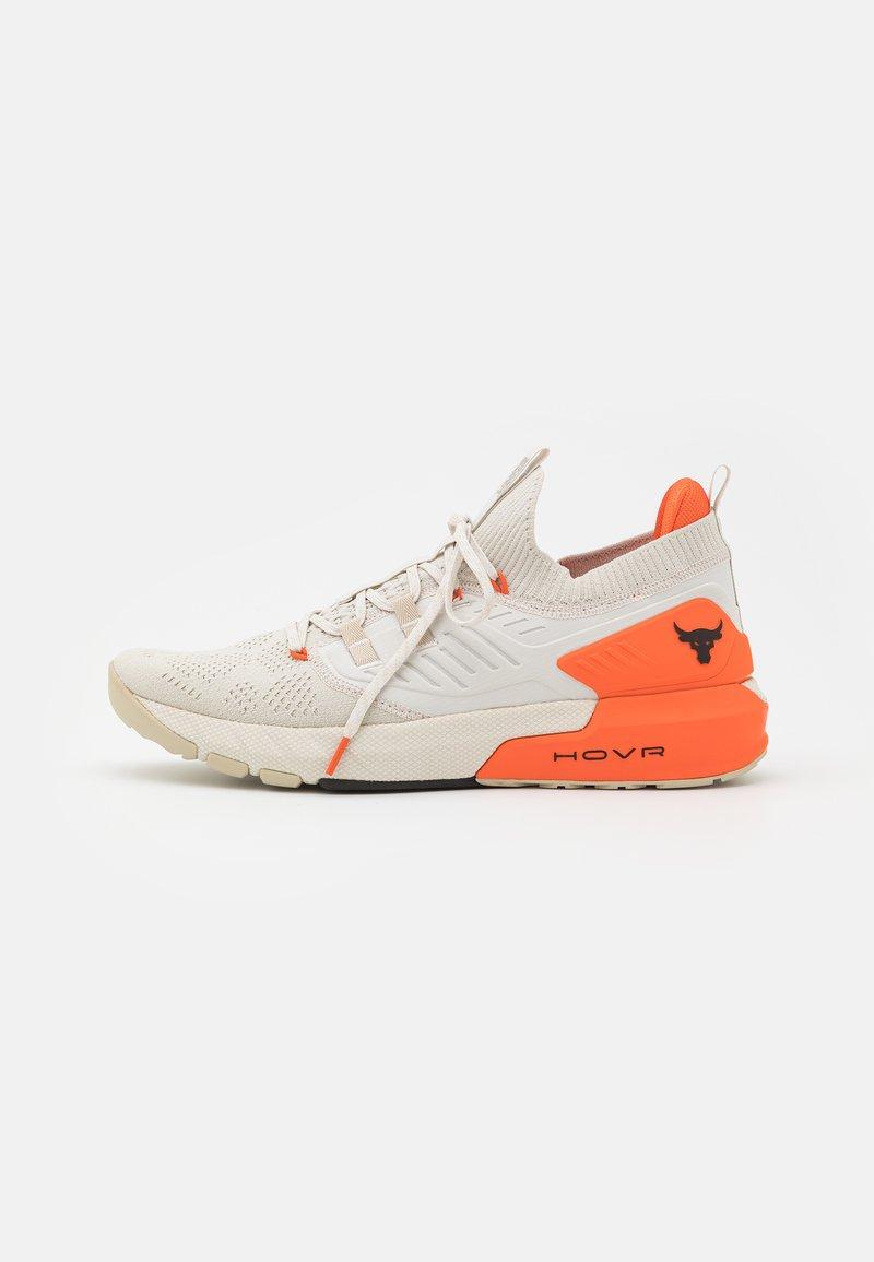 Under Armour - PROJECT ROCK 3 - Chaussures d'entraînement et de fitness - summit white