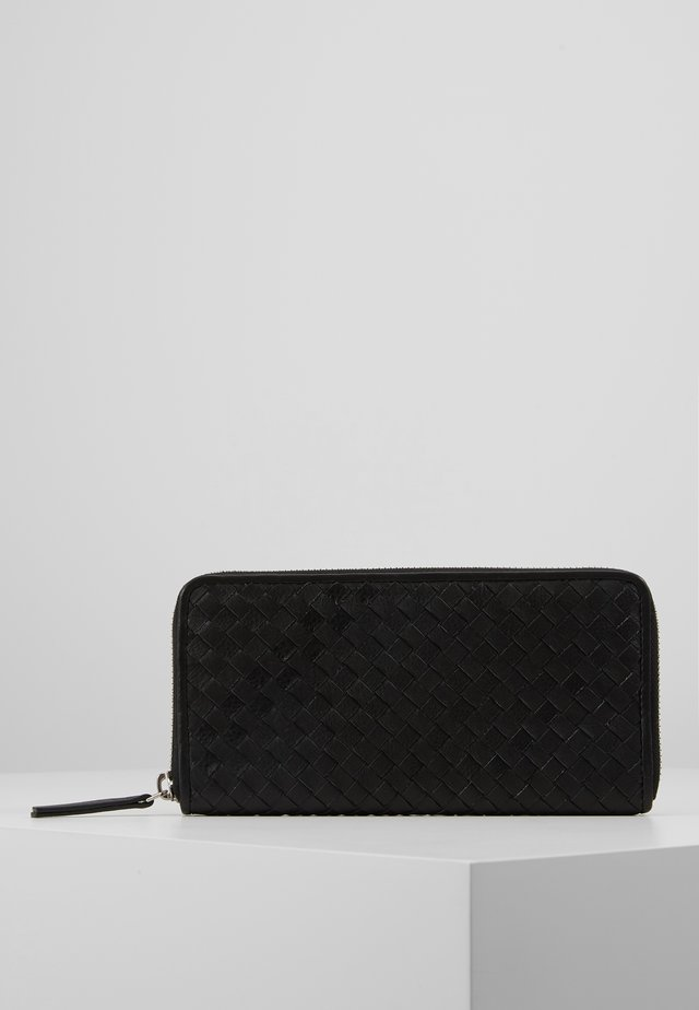 LONG WALLET - Lommebok - black
