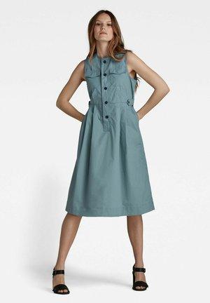 Shirt dress - light bright nickel