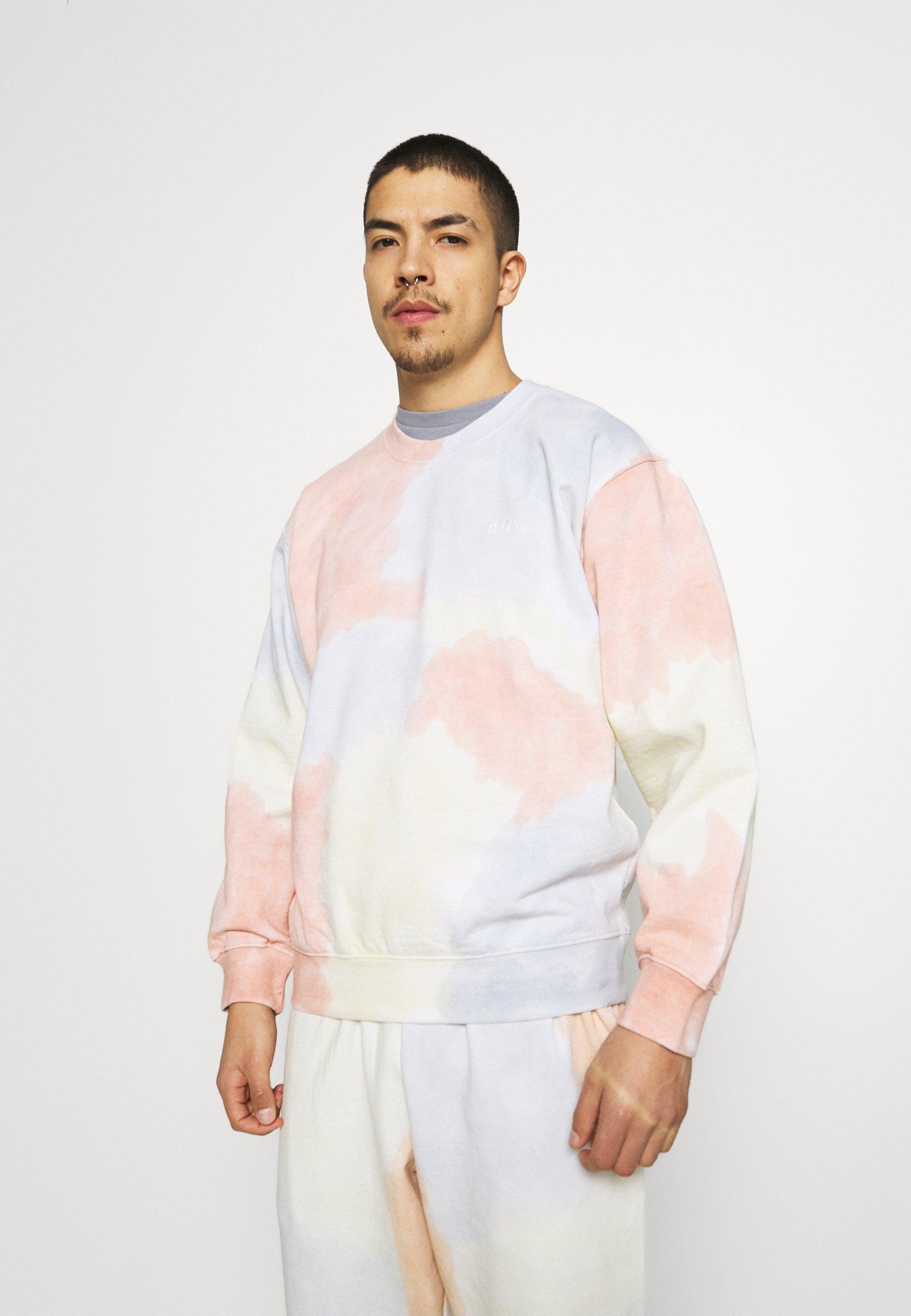 Men SUSTAINABLE TIE DYE CREW - Sweatshirt