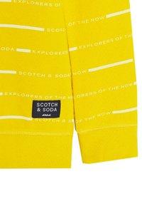 Scotch & Soda - Sweatshirt - yellow - 3