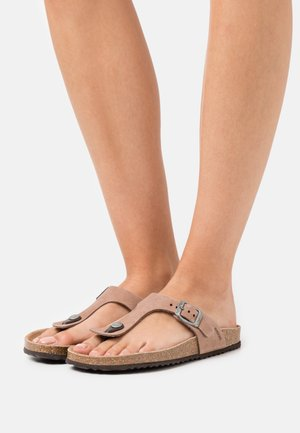 BRIONIA - T-bar sandals - taupe