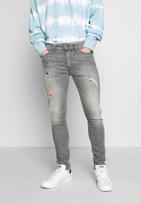 Tigha - MORTEN - Jeans slim fit - mid grey - 0