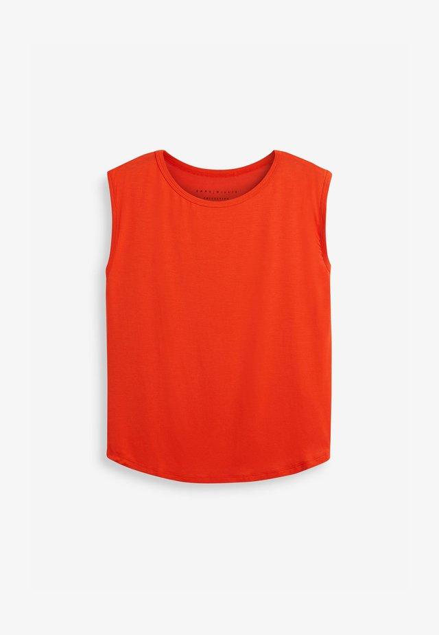 EMMA WILLIS - T-shirt basique - orange