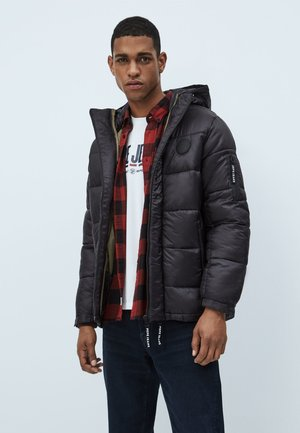PERCY - Winter jacket - black