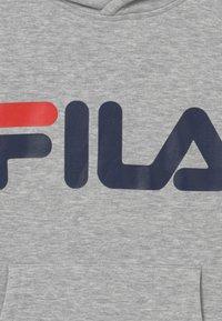 Fila - ANDREA CLASSIC LOGO HOODY - Jersey con capucha - light grey melange - 3
