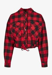 Urban Classics - Button-down blouse - black/red - 4