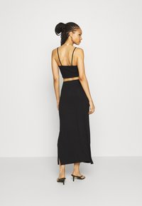 Even&Odd - BASIC - Maxi skirt - Maxi skirt - black - 2