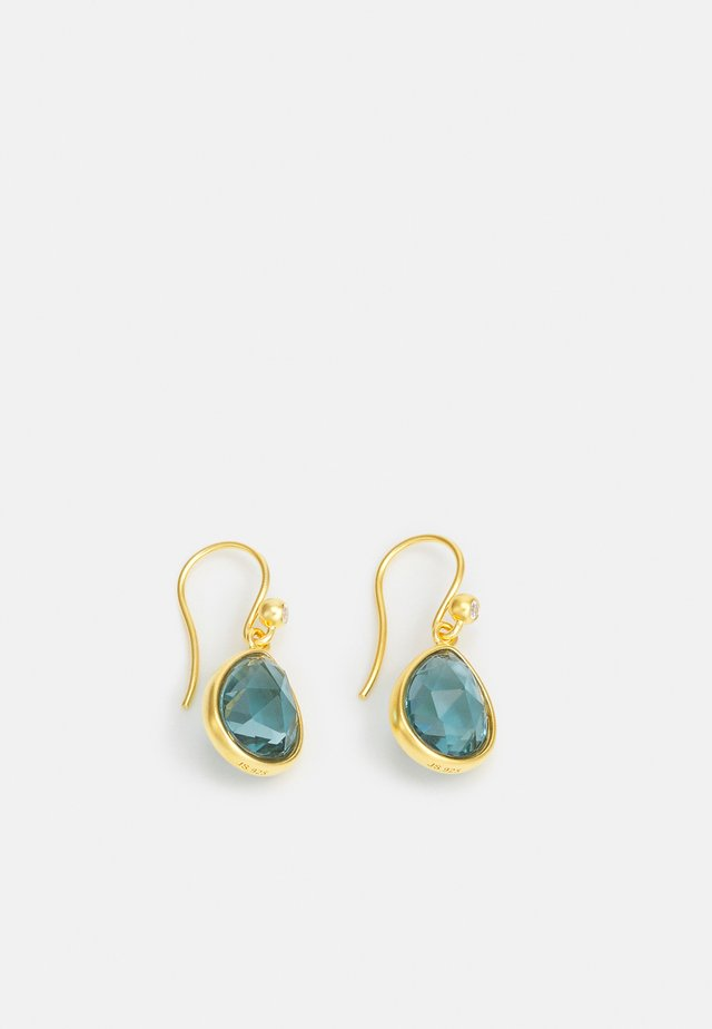 AURA EARRINGS - Náušnice - blue