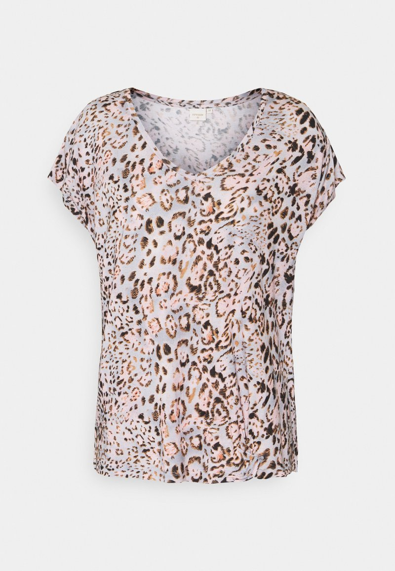 Cream - Print T-shirt - pink