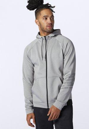 Zip-up sweatshirt - athletic grey