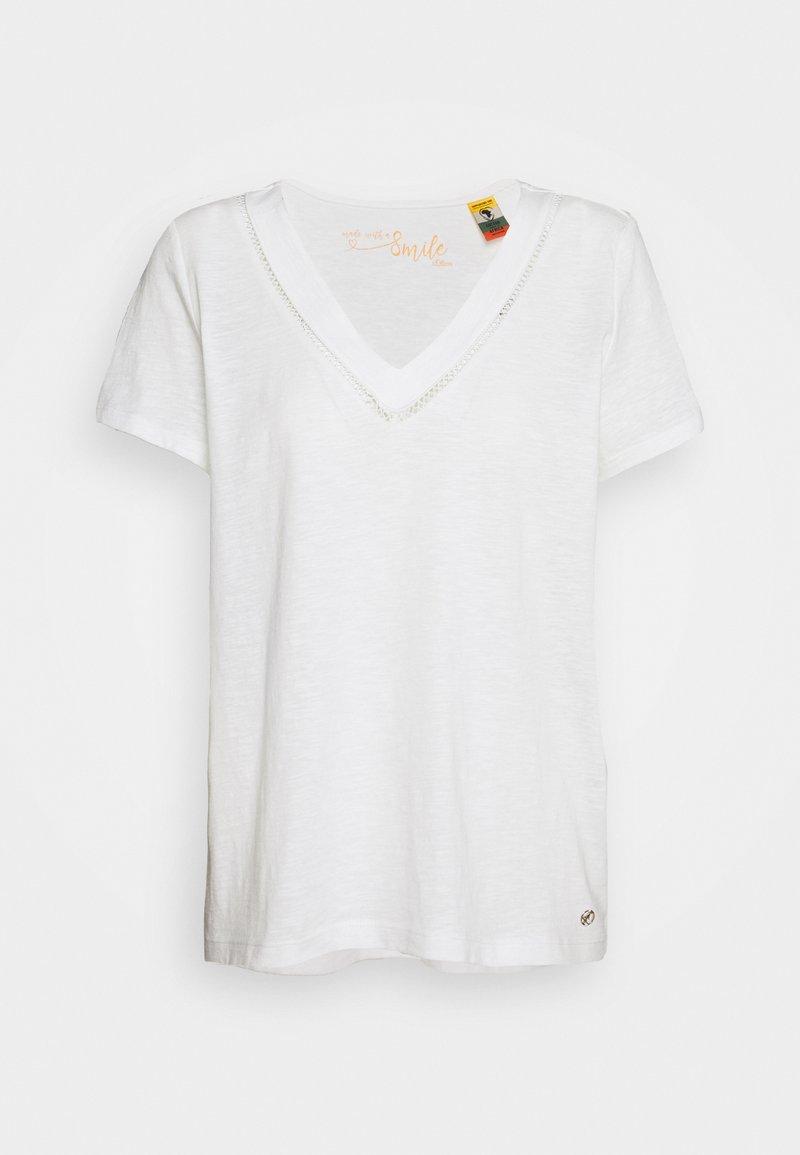 s.Oliver - T-shirt imprimé - cream