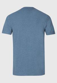 AllSaints - BRACE - Basic T-shirt - mottled royal blue - 4