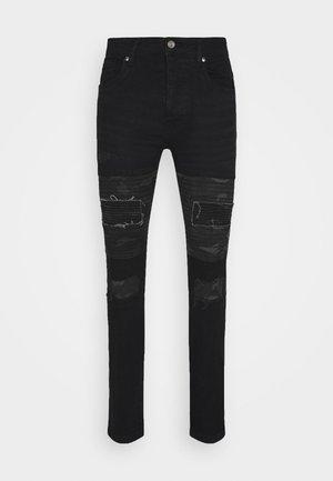 ROBBINS - Skinny džíny - charcoal