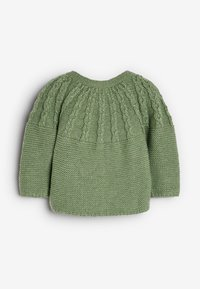 Next - CABLE DETAILED  - Cardigan - green - 1