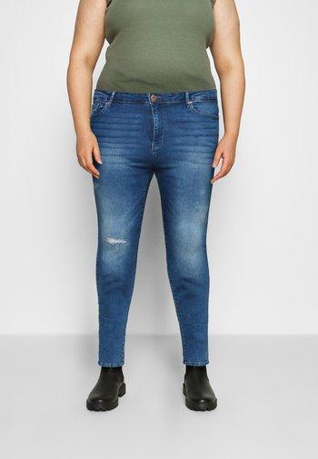 CARLAOLA LIFE - Jeans Skinny Fit - medium blue denim