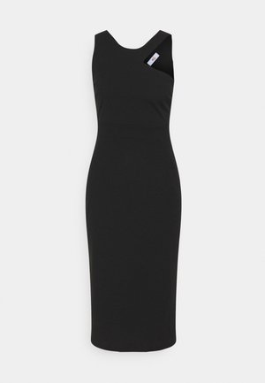 NELLI CUT OUT MIDI DRESS - Vestido de tubo - black
